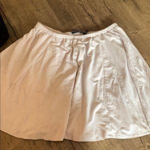 Brandy Melville light pink skirt